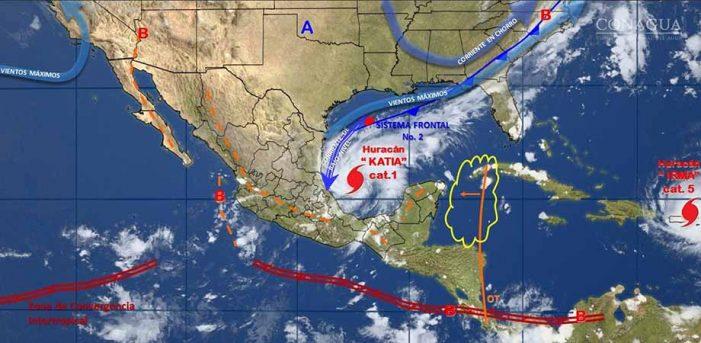 Katia provocará serios daños en Puebla: Osorio Chong