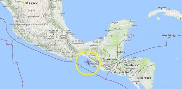Terremoto de 8.2 grados Richter sacude Sur de México y Centroamérica