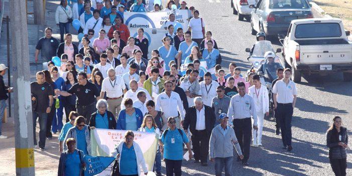 Conmemoran semana nacional y Día Mundial de la Diabetes