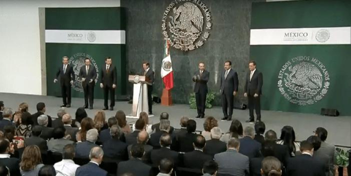 Peña Nieto anuncia cambios en Gobernación, Trabajo y Sedesol