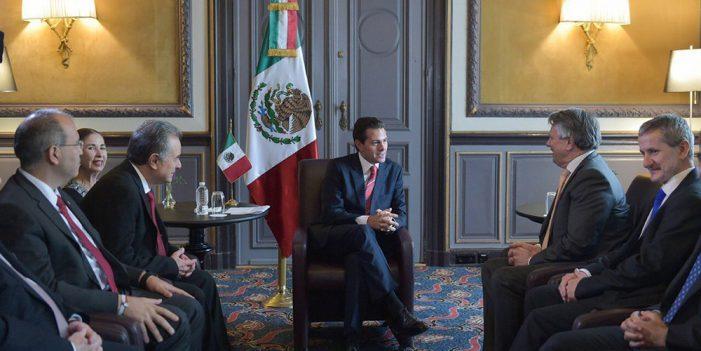 Modernizan Rajoy y Peña Nieto relación UE-México