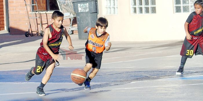 Arranca torneo infantil en Tercera Parada Tour Fest Nogales 2018