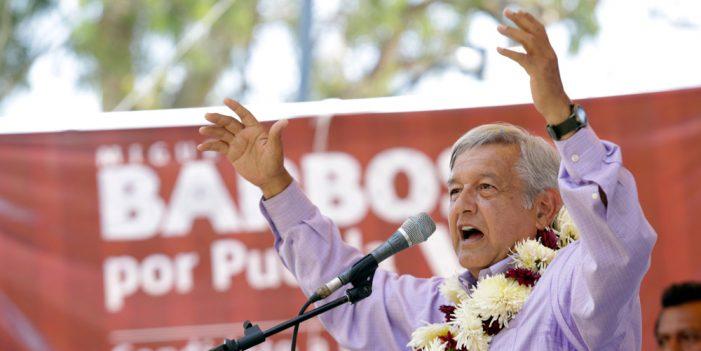 Atacan presidenciales el centro de México