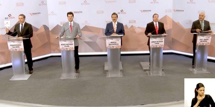 Decepcionan candidatos en debate por Nogales