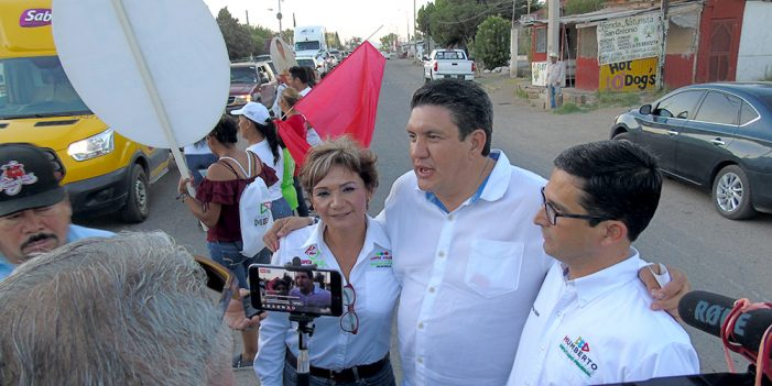 Robles Pompa se compromete con más infraestructura para Fronteras