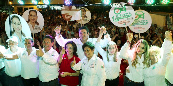 Magdalena de Kino votará por la fórmula priísta