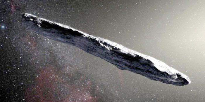 Primer objeto interestelar conocido acelera a velocidad inesperada