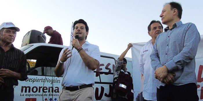 Será Pujol el mejor presidente en Nogales: Alejandro Castro