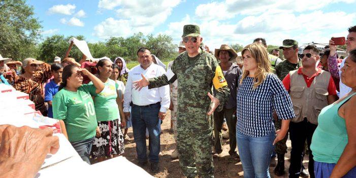 Superan 5 mil damnificados por lluvias en Álamos: Alcalde
