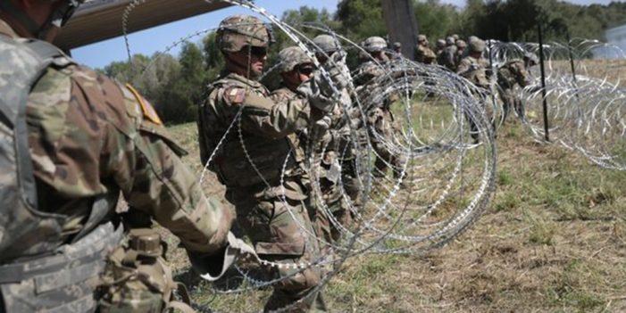 Ejército permanecerá en frontera México-Estados Unidos hasta el 31 de Enero