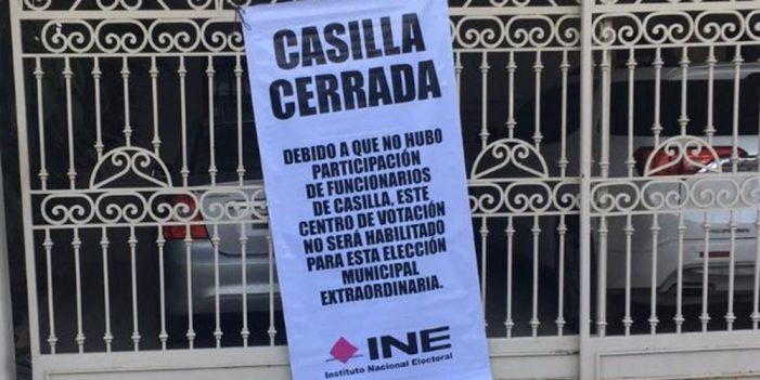 Sin funcionarios de casillas, elecciones de Monterrey