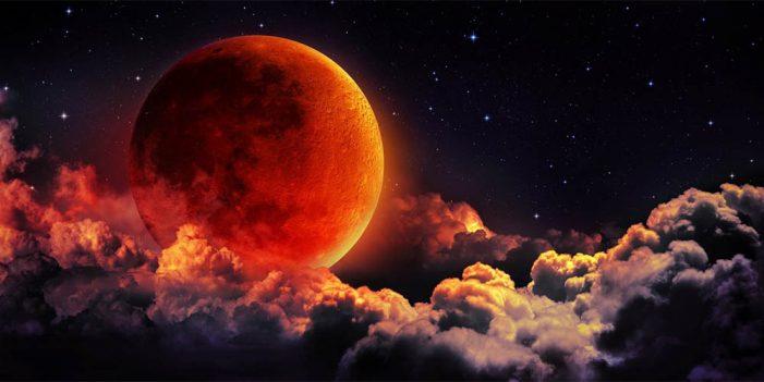 Será esta noche primer eclipse lunar del 2019