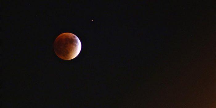 Por sólo 30 pesos podrás ver el eclipse lunar desde el Centro Ecológico