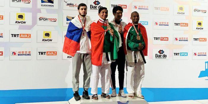 Histórico oro para México en Campeonato Mundial de Parataekwondo