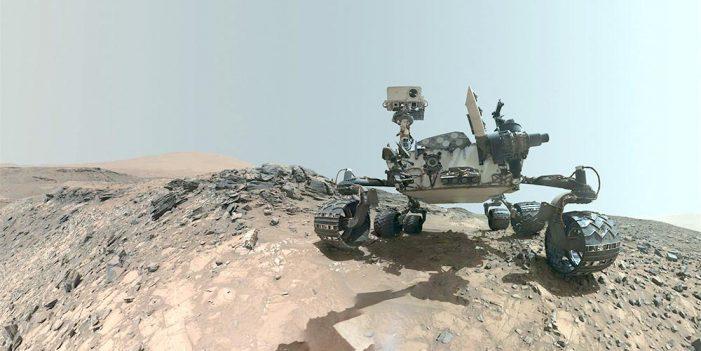 Curiosity encuentra nitrógeno en superficie de Marte