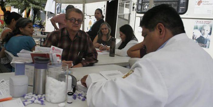 En campaña; realizan detección oportuna de enfermedad renal