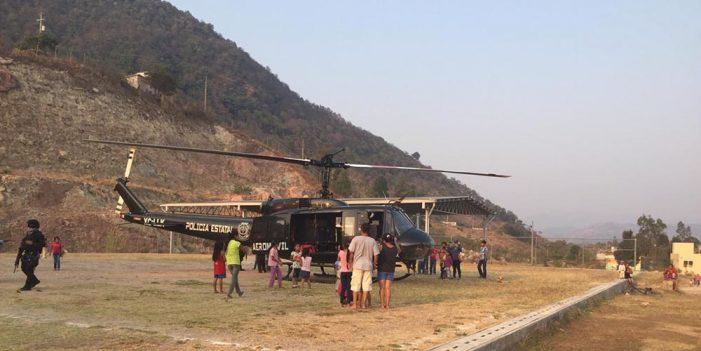Atienden emergencia por intoxicación de niños en Guerrero