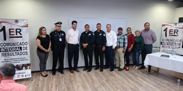 Expone Comisario resultados en Seguridad Pública Municipal