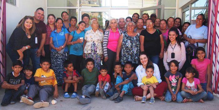 Lleva DIF Nogales despensas a colonias populares