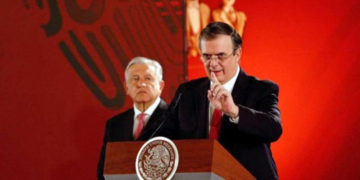 Exitosa estrategia para reducir flujo migratorio: Marcelo Ebrard