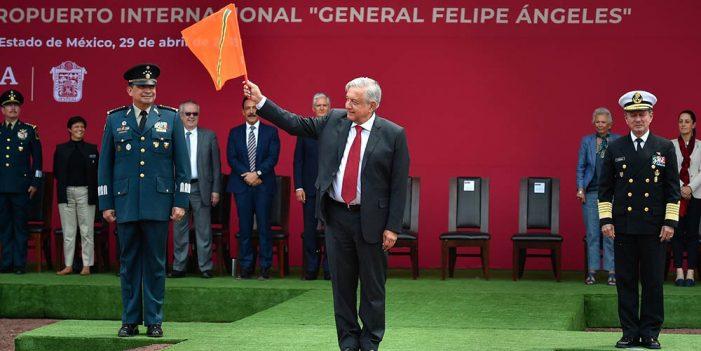 AMLO, listo para banderazo de obras en nuevo aeropuerto
