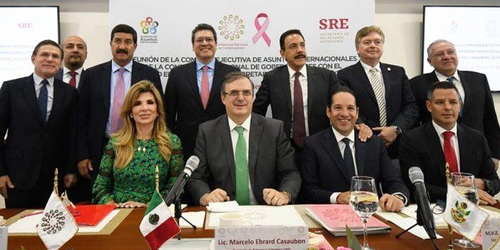 Destaca Gobernadora trabajo coordinado para atender migración