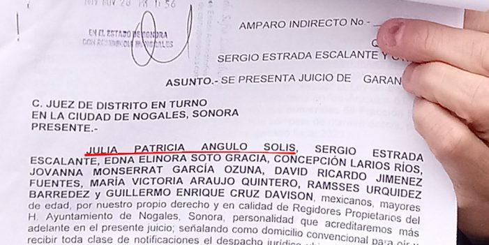 Síndico Municipal, entre amparados contra sesión de Cabildo