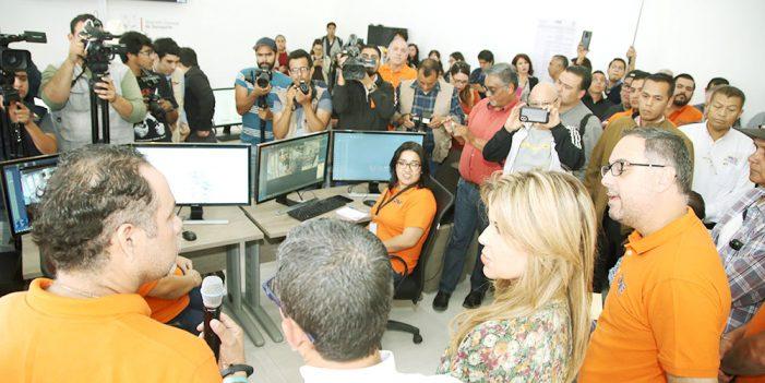 Centro de vigilancia del transporte dará seguridad al usuario: Gobernadora