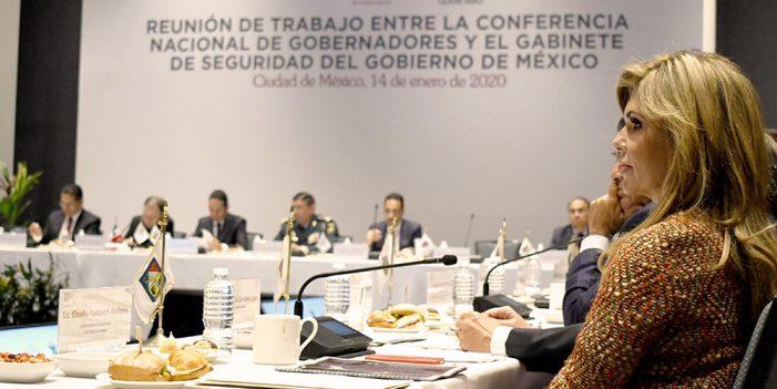 Participa CPA en acuerdo Conago – Gobierno Federal para reforzar seguridad