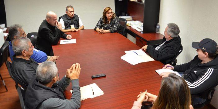 Atiende Leticia Calderón a concesionarios de transporte