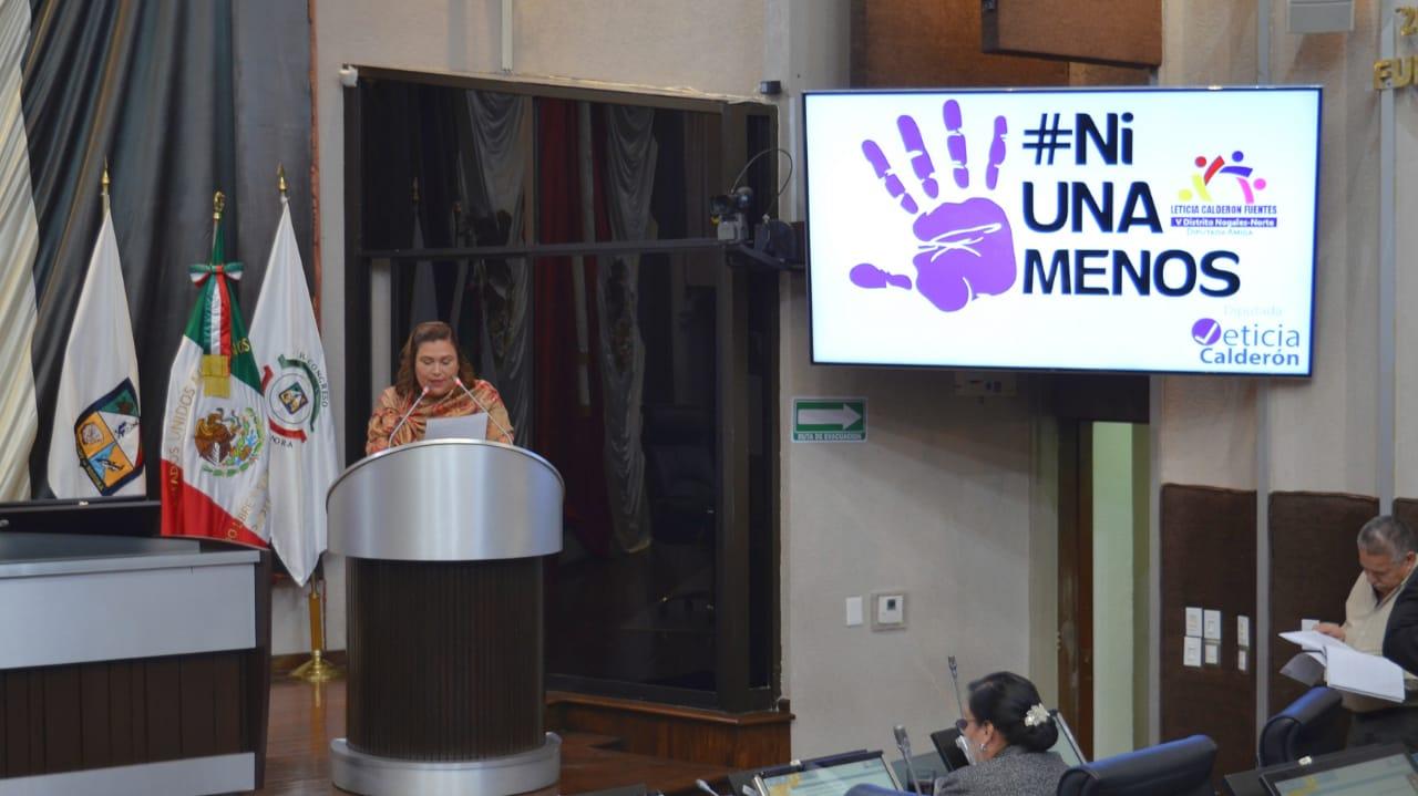 Leticia Calderón pide Alerta de violencia de género