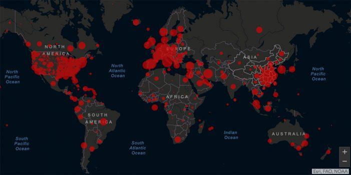 Una mirada al mundo; 600 mil infectados de Coronavirus
