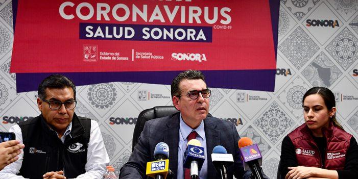 Confirma Salud Sonora primer caso de Coronavirus