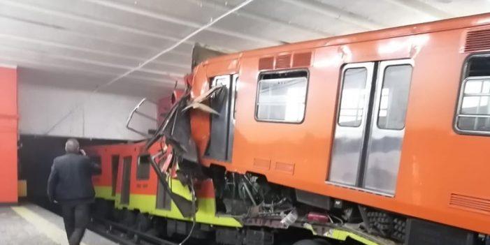 Trenazo en Tacubaya deja un muerto
