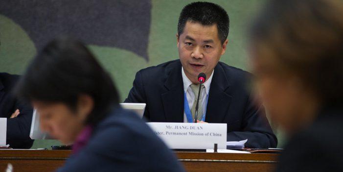 China escogerá investigadores de violación a DD.HH. de la ONU