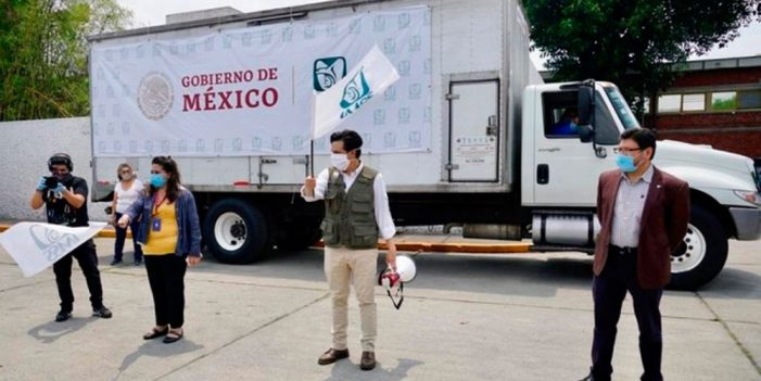 Inicia IMSS entrega de mascarillas a trabajadores de la salud