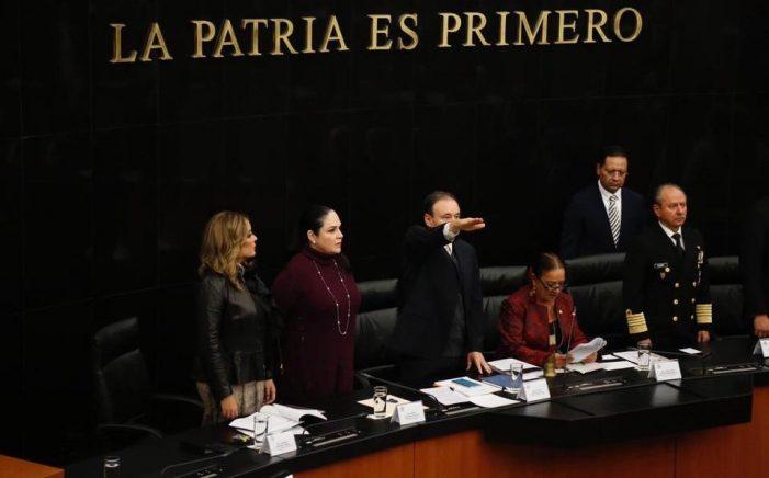 """Denuncian a Alfonso Durazo ante la SFP por """"mentir al Senado"""""""