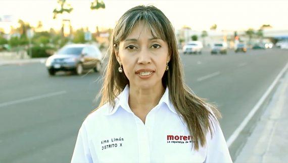"""Buscan """"cotos de poder"""" en Morena: Alma Limón"""