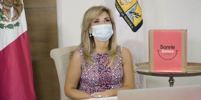 Presenta Gobernadora proyecto solidario #SonríeSonora