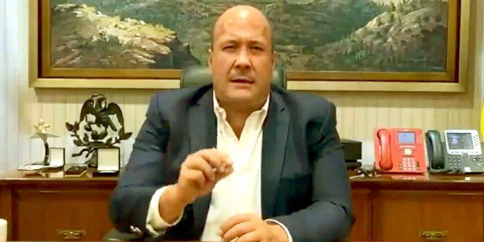 Gobernador de Jalisco responsabiliza a López Obrador por violencia en manifestaciones