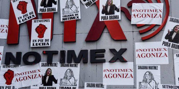 Notimex se cae a pedazos; renuncian vocales de la Junta de Gobierno