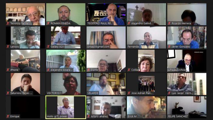 Realiza Fapermex y Conalipe sesión virtual de consejos