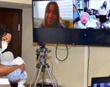 """Ingresa primer recién nacido a programa """"Familias Solidarias"""""""