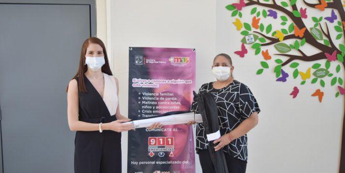 """Programa """"Mujeres seguras"""" llega al Centro de justicia para las mujeres"""