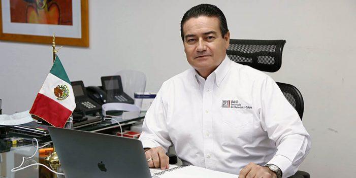 La educación en Sonora no se detiene: Víctor Guerrero